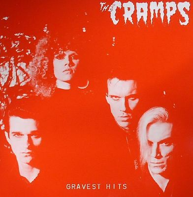 "CRAMPS, The - Gravest Hits - Vinyl (limited numbered 150 gram red vinyl 12"")"