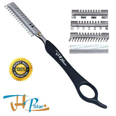 Hairdressing Hair Layer, Thinner, Shaper, Shaper Cutting Razor +10 Blades