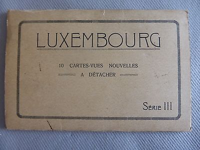 Cpa 10 Cartes-Vues Nouvelles Luxembourg Serie Iii Corniche Pont Adolphe Petrusse