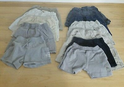 Lot Baby Toddler Boys Summer Shorts Bottoms Size 12, 18, 24 months & 2T