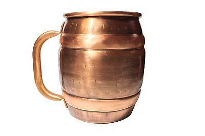 Copper  Cup Mug Beer Stein. Made In Italy