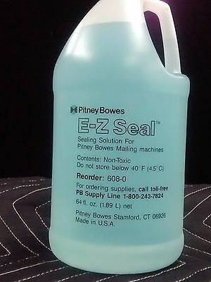 PITNEY BOWES E-Z SEAL SEALING SOLUTION FOR MAILING MACHINES 608-0 64 Fl Oz USA