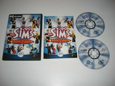 THE SIMS 1 DELUXE Pc Inc. Original Sims 1 Base Game + LIVIN IT UP Add-on SIMMS