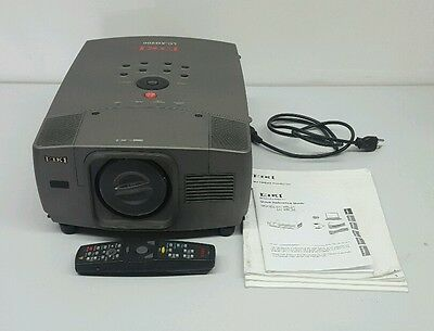 Eiki Lc-Xg200 Video Projector With Remote Manual Vga Component