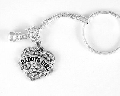 Daddy daughter dance Daddy's Girl jewelry Daddy's Girl key chain father daughter
