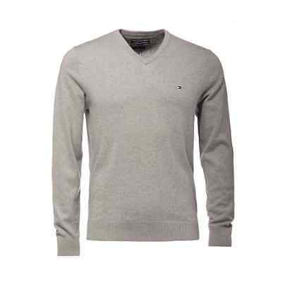 Mens Tommy Hilfiger Pima Cotton Cashmere  V Neck Sweater XL NWT Pullover