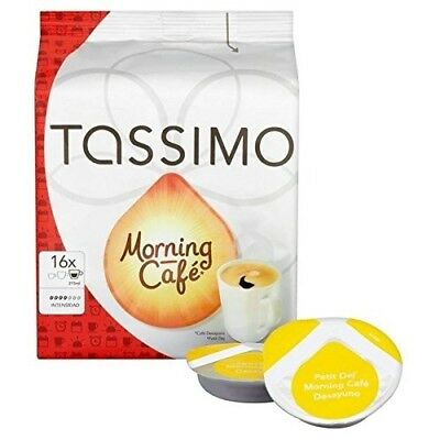 Tassimo Morning Cafe 16 per pack. Shipping is Free