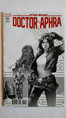 Doctor Aphra #1 First Print Variant Marvel Comics (2017)