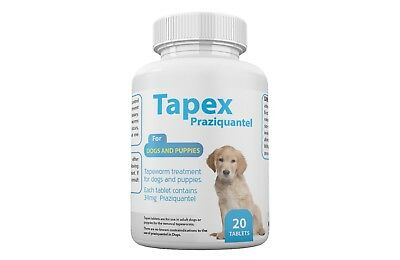 Tapex Dewormer 20 Caps Tapeworm for  Dogs similar to Droncit Tradewinds