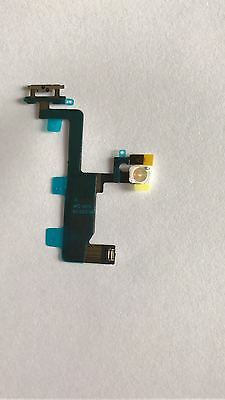 """iPhone 6 4.7"""" On/Off Power Button Lock Switch Mic Flash Replacement Flex Repair"""