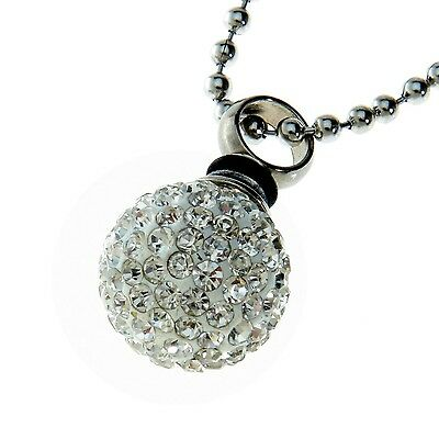 Urns Uk Jewellery Ash Pendant Chelsea Design 19a with Ball Chain