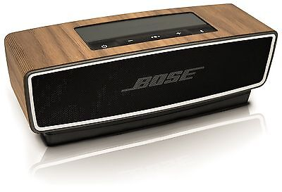 balolo Genuine Walnut Wood Cover for Bose SoundLink Mini II