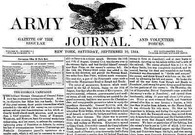U.S. Army and Navy Journal and Gazette of the Regular and Volunteer Forces Vol 2