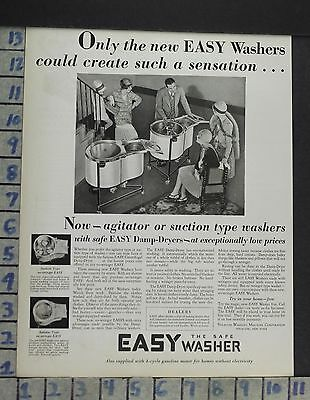 1929 Home Decor Laundry Room Easy Washer Machine Syracuse Vintage Ad Cp1