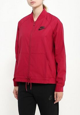 New Nike Women's Bomber Jacket/running/pockets/lightweight sport