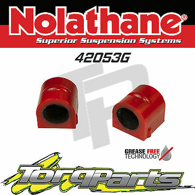 Nolathane Front Sway Bar Mount D Bushes Suit Holden Vy Vz Commodore 42053G