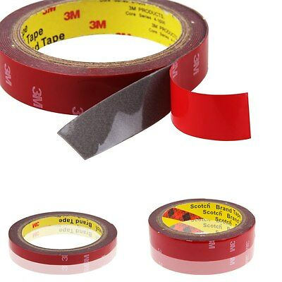 3M Auto Truck Car Acrylic High Strength Double Sided Foam Attachment Tape Roll