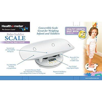 Baby Toddler Digital Scale Newborn Weight Measure Tray with Growth Chart Book