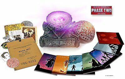 NEW Marvel Cinematic Universe: Phase Two Blu Ray Collector's Iron Man Avengers