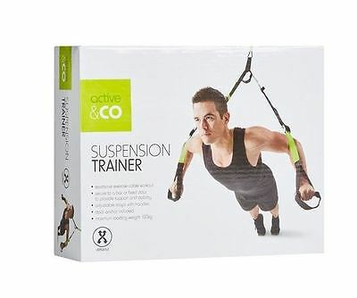 Suspension Training Kit - Resistance Straps - Home Work Out - Body Trainer