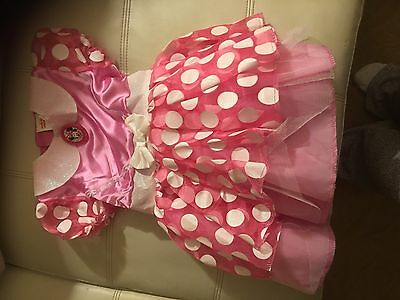 Dress up Minnie Mouse Outfit For Little Girl Size 3/4