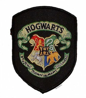 Sew On Patches harry potter motif hogwarts sand Embroidery Time Turner Iron On