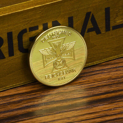 German Eagle Cross Gold Commemorative Coins Gift