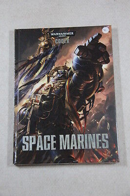 Warhammer 40,000 - Codex Space Marine Hardcover 2013 Factory Sealed Brand New