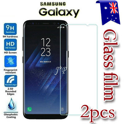 2X Samsung Galaxy S8 S8+ Tempered Glass / Plastic Screen Protector Film Guard