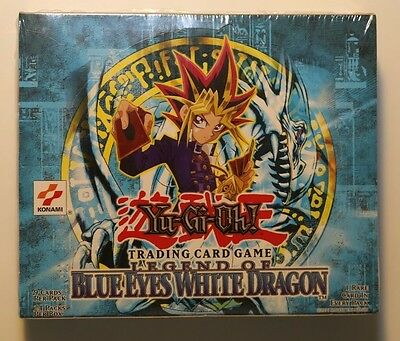 Yu-Gi-Oh Display Box Legend of Blue Eyes white Dragon EN 24 Booster sealed Unlim