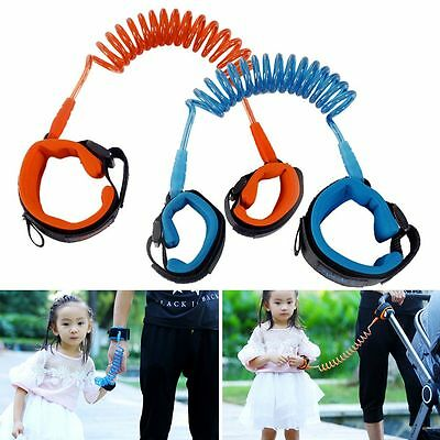 Kids Toddler Baby Safety Walking Anti-lost Harness Strap Wrist Leash Hand Belt