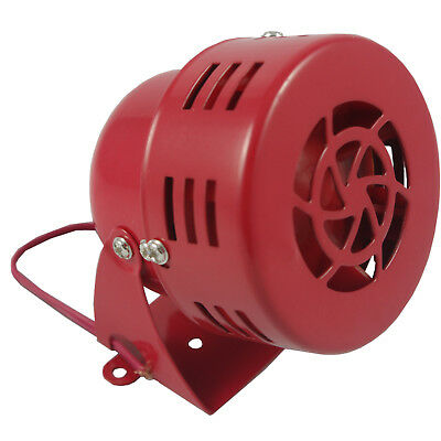Tornado Warning Car Truck Air Raid Horn Alarm Horn Red 1950s Style 12V New