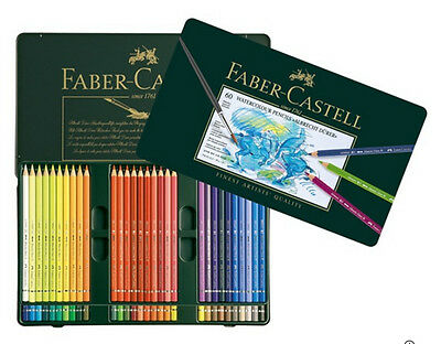 Faber-Castell Watercolour Pencils Albrecht Dürer Tin Set of 60