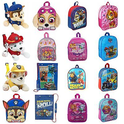 Boys And Girls PAW Patrol Backpacks Marshall Chase Skye Rubble Everest Gym Bags