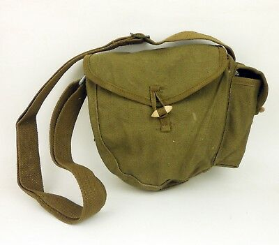 Surplus Chinese Army Type 56 Drum Magazine Pouch Field Canvas Ammo Bag Pocket