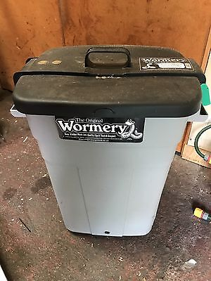 Original Wormery 95L Composting Worms Make Compost with Food Waste Greenhouse