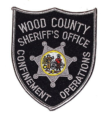 WOOD COUNTY - SWAT - WEST VIRGINIA WV Sheriff Police Patch CONFINEMENT OPERATION