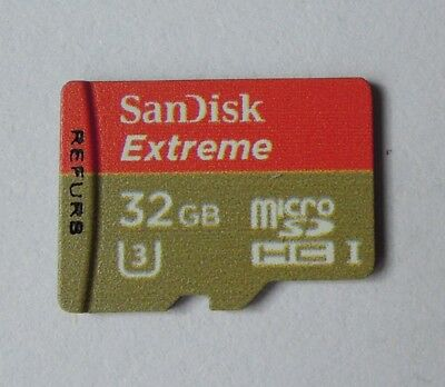 4K 32GB SanDisk Extreme Micro SD SDHC SDXC 90MB/S TF Card Class10 U3 Genuine R