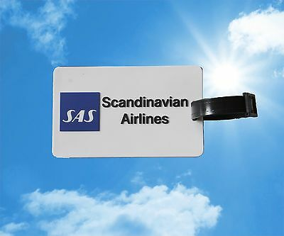 SAS Scandinavian Airlines luggage baggage name Tag