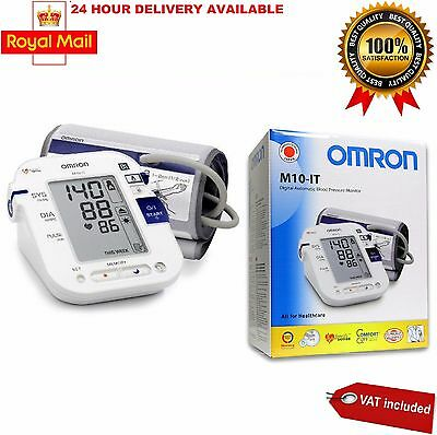 Omron M10-IT Upper Arm Blood Pressure Monitor Brand New