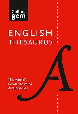 Collins Gem English Thesaurus [8th Edition] by Dictionaries Collins - NEW