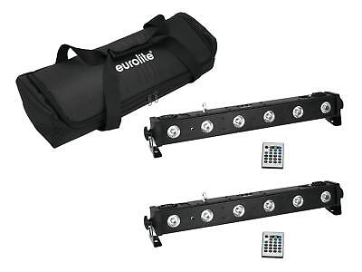 EUROLITE Set 2x LED BAR-650 + Soft-Bag