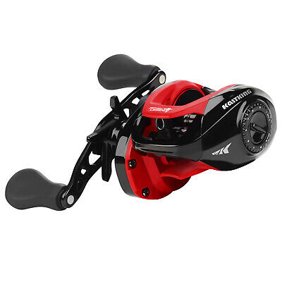 KastKing Whitemax Baitcaster Fishing Reel 11+1 BBS Perfect Carp Fishing Reel