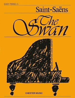 Partition pour piano - Saint-Saëns - The Swan - Easy piano N°5
