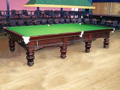 Full Size Restored Antique Snooker Table