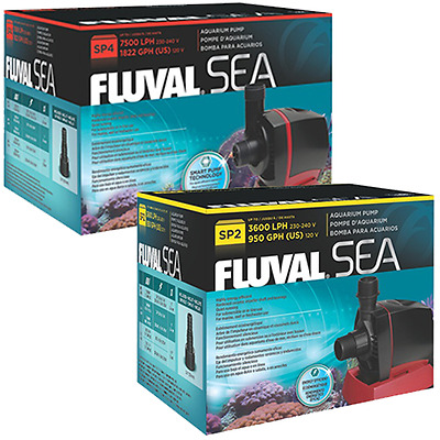 Fluval Sea Aquatic SP2 3600 L/H / SP4 7500L/H Aquarium Fish Tank Sump Pump