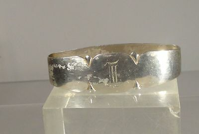 Antique Sterling Silver Handwrought Randahl Arts and Crafts Napkin Ring