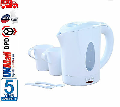 **BRAND NEW** Russell Hobbs 23630 Travel Jug Kettle With 2 Cups & Spoons