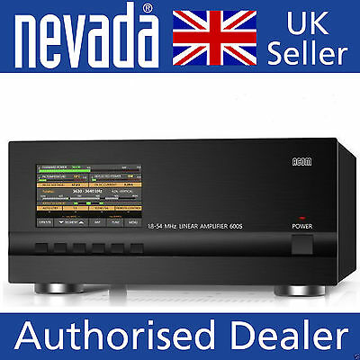 Acom 600S 600w 1.8-54MHz solid state linear amplifier  JUST 1 LEFT THIS MONTH !