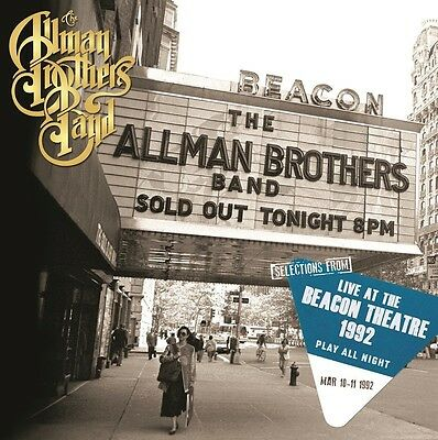 The Allman Brothers Band - Selections From Play All Night  2 Vinyl Lp Neu